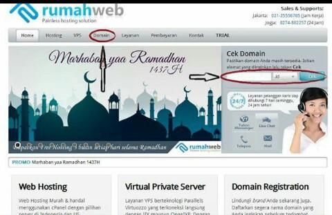 Cara Mengganti Blogspot.Com  Menjadi Domain Sendiri (.Com) Secara Mudah