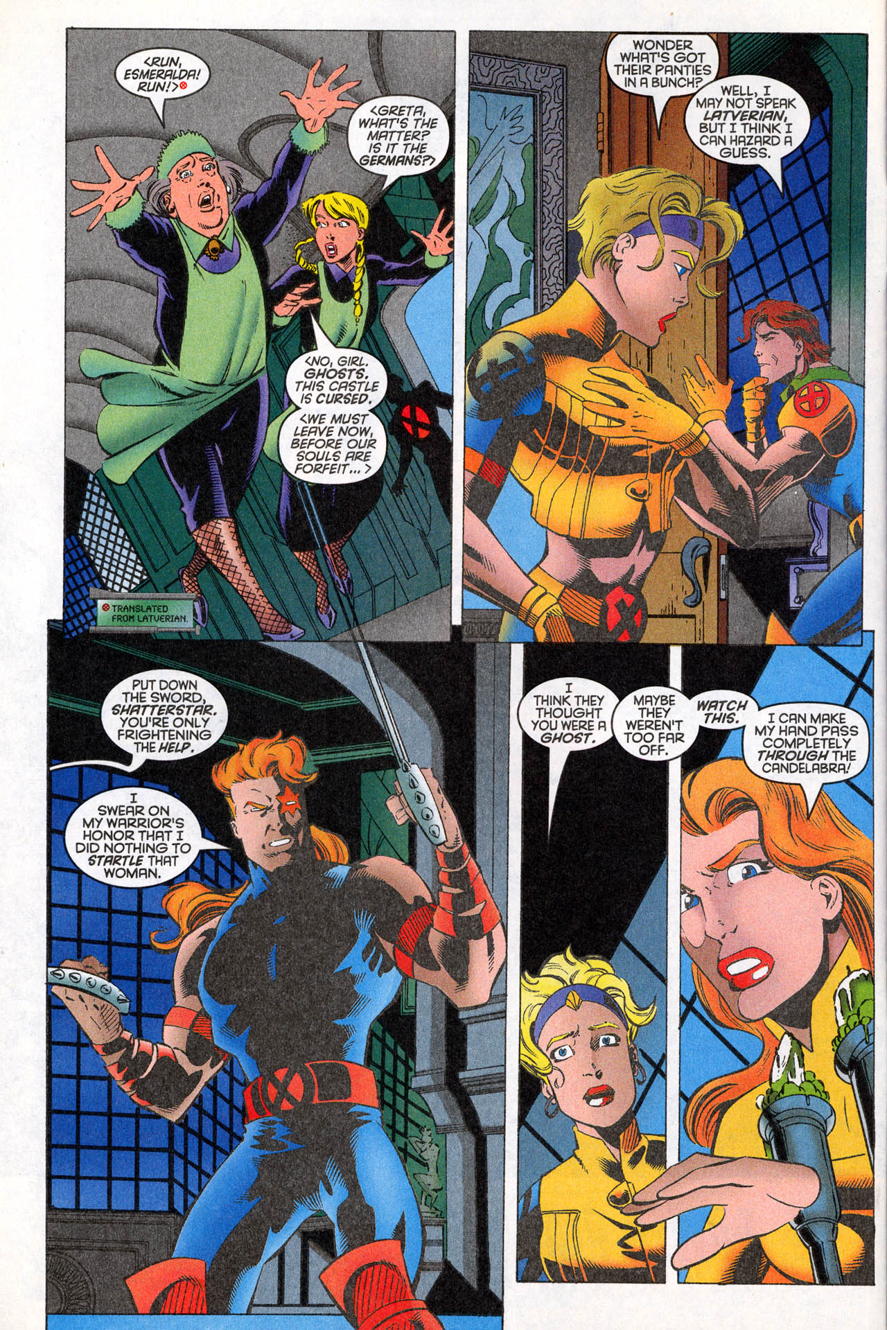 Read online X-Force (1991) comic -  Issue #64 - 8