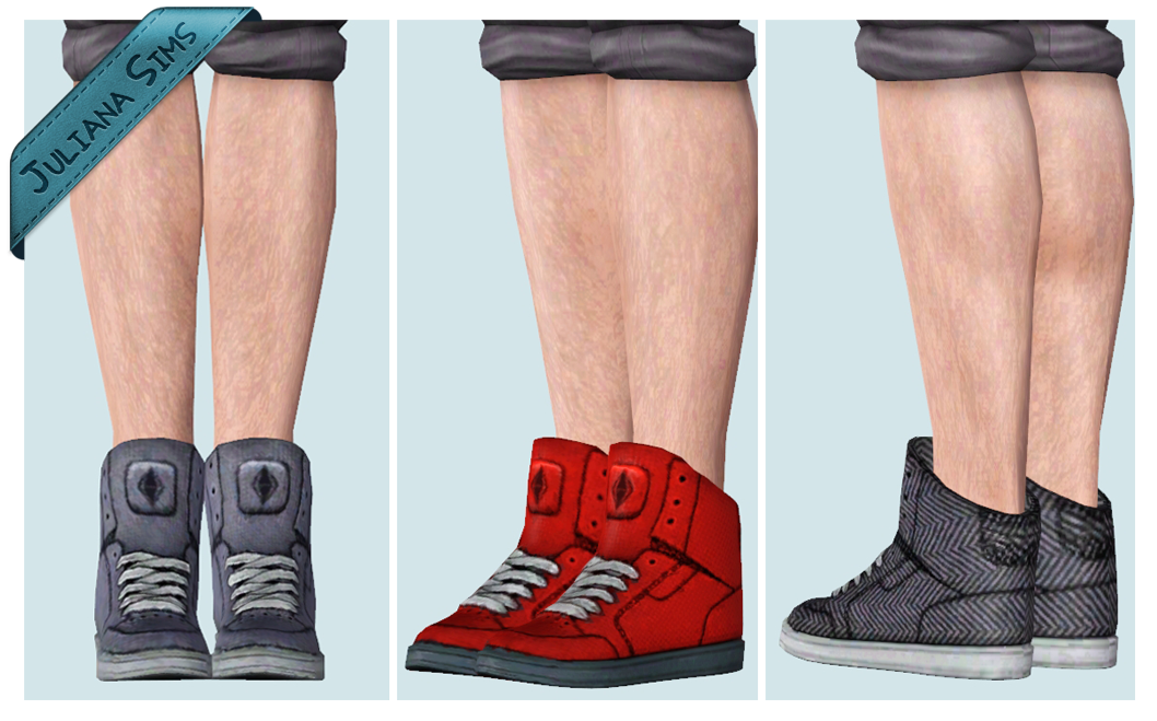 Custom Content Sims  Name Brand Shoes