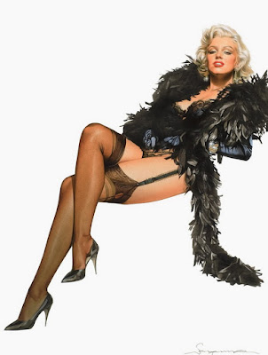 Marilyn Monroe Pin Up Cuadros Eroticos