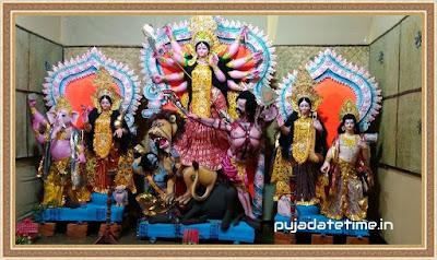 Durga Puja Date & Time