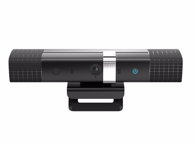 This webcam hides inside a complete videoconferencing miniPC