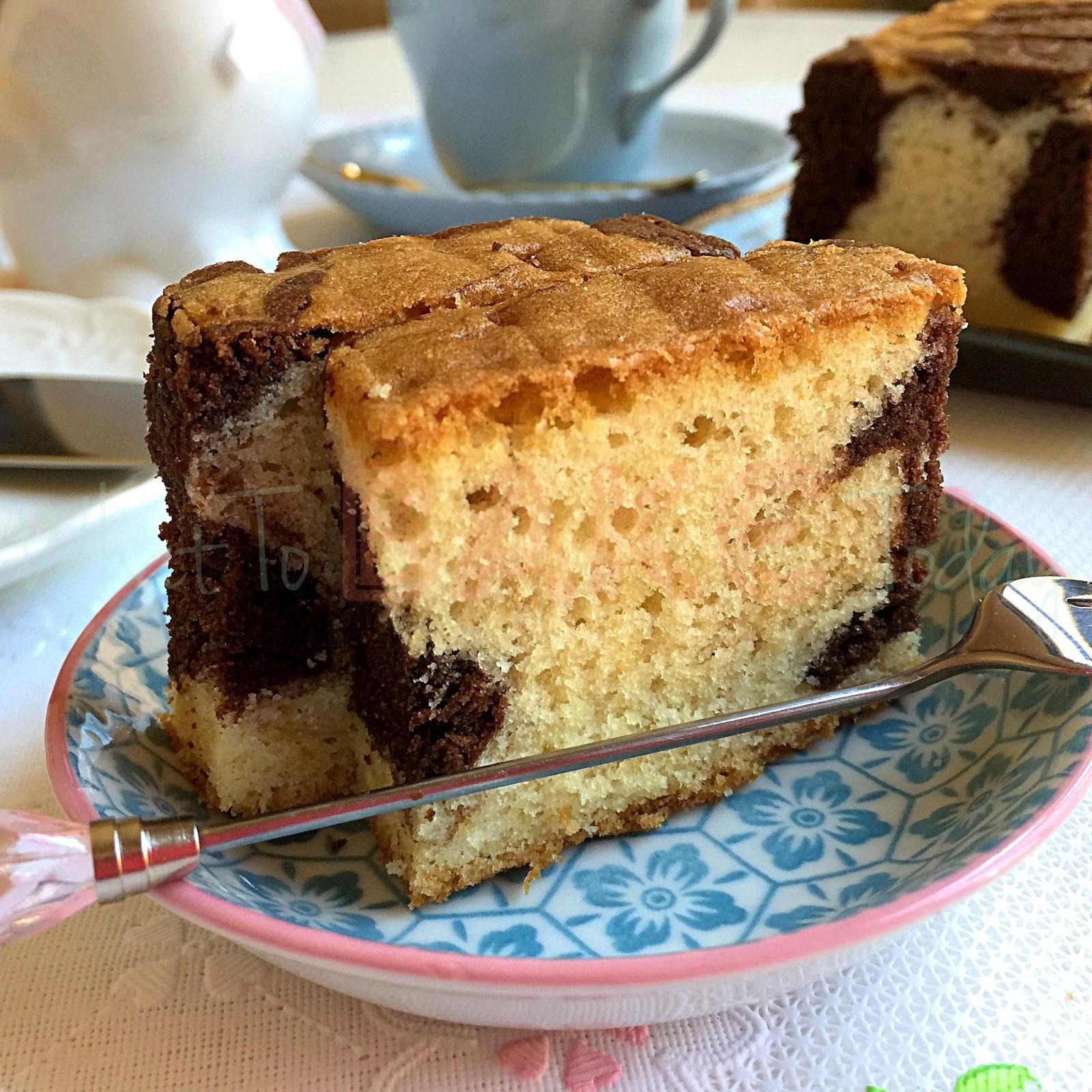 Recipe Of Moisture Marble Cake