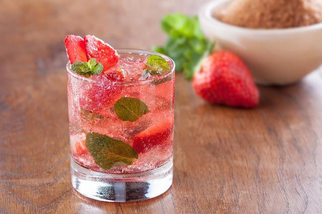 Resep Minuman Soda Starwberry