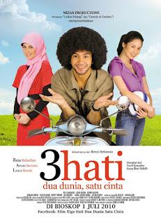 DOWNLOAD FIL 3 HATI 2 DUNIA 1 CINTA (2010) - [MOVINDO21]