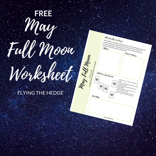 May Full Moon Worksheet