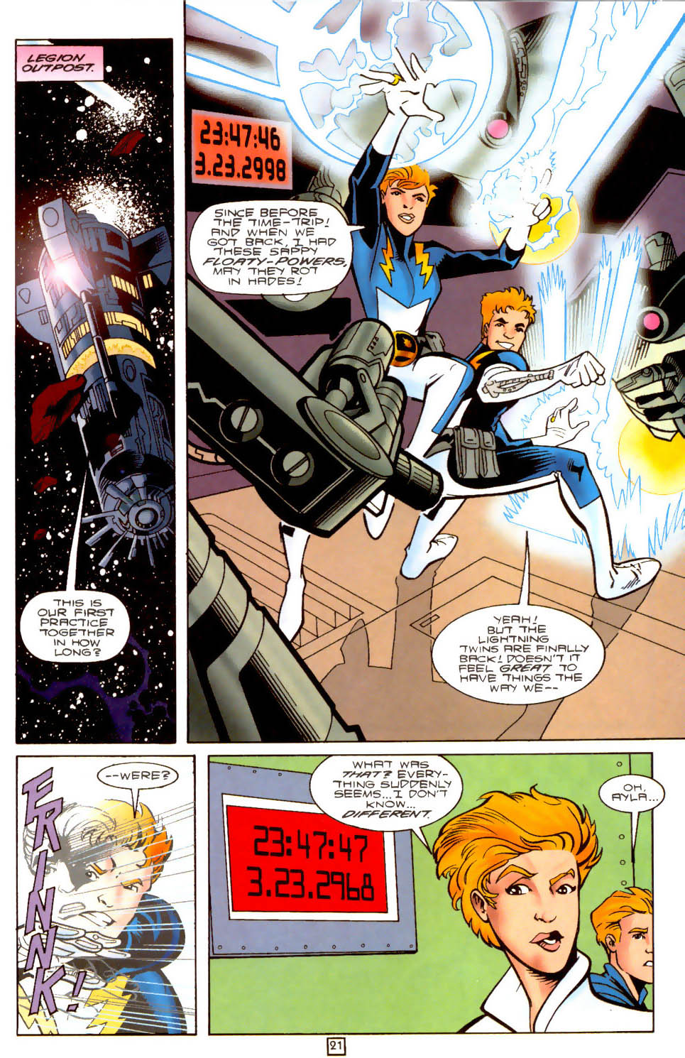Legion of Super-Heroes (1989) 104 Page 21