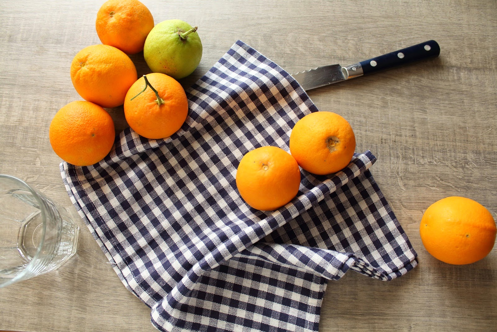 fresh citrus for morning juice