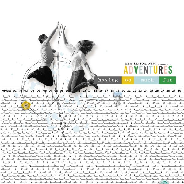 adventures © sylvia • sro 2019 • april stuff by rachel etrog designs