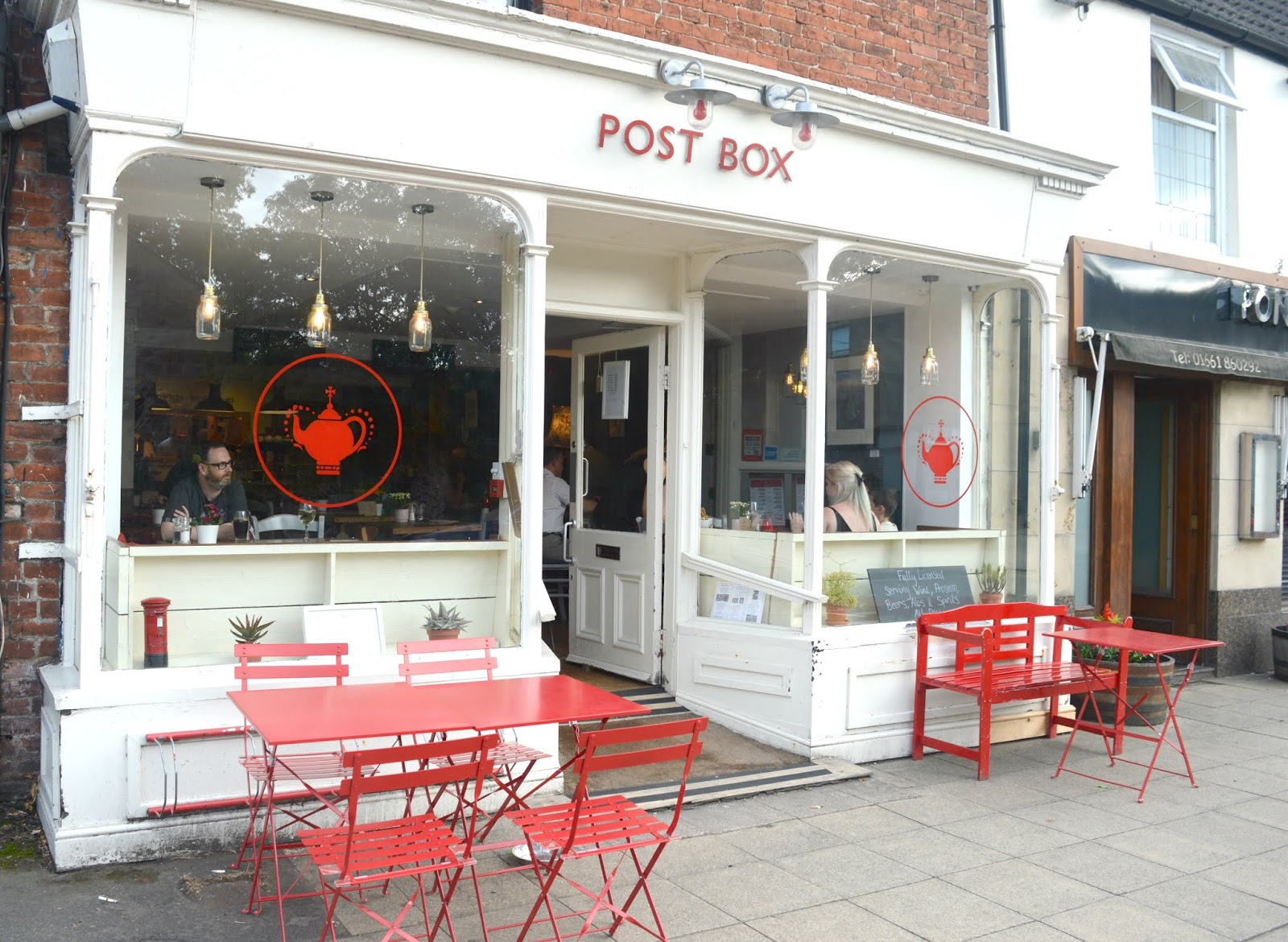 Night Cafe at Post Box, Ponteland