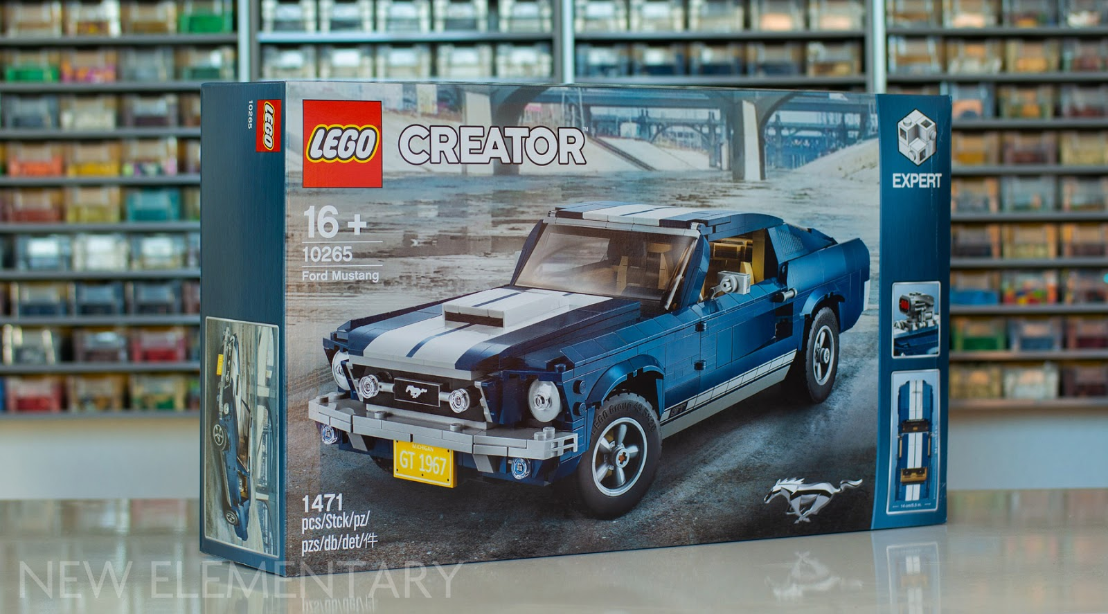 LEGO® Creator review: 10265 Ford Mustang | New Elementary, a