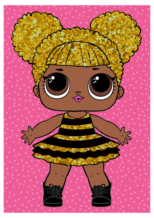Lol Surprise Queen Bee Free Printable Posters Oh My Fiesta In English