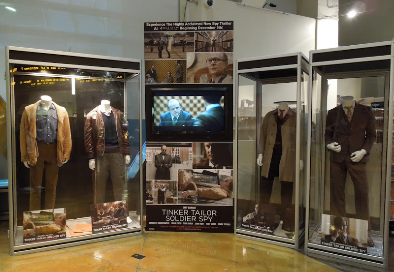 Tinker Tailor Soldier Spy costume display