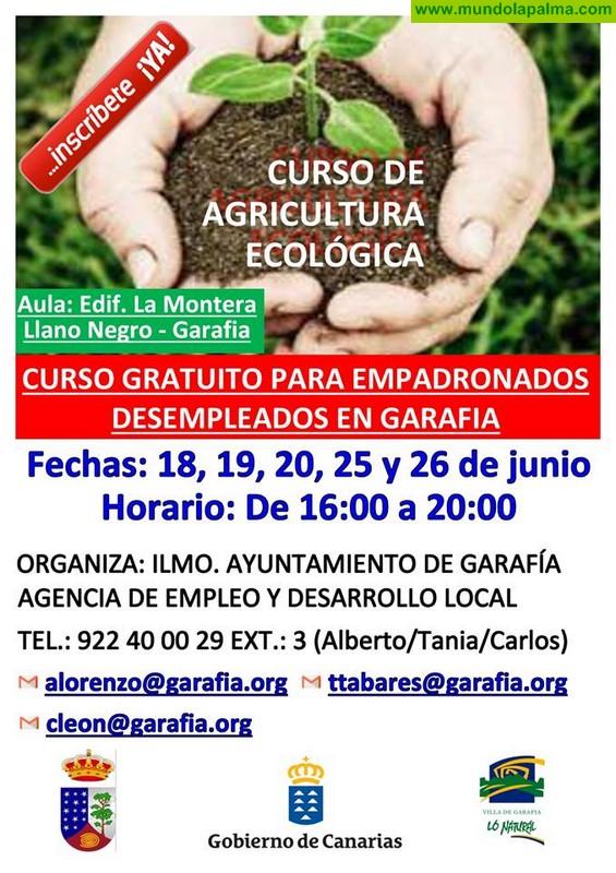 Curso de Agricultura Ecológica para desempleados y empadronados en la Villa de Garafía
