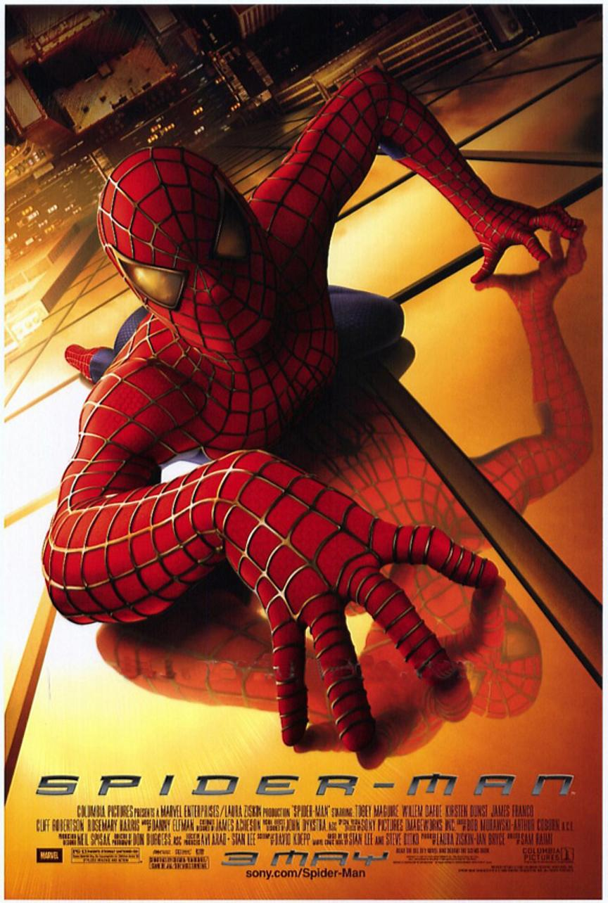 funny pictures gallery spiderman 1 poster spider man 1. Black Bedroom Furniture Sets. Home Design Ideas