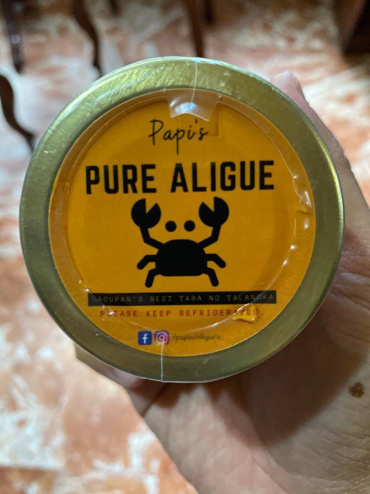 Papi's Chili Garlic Pure Aligue