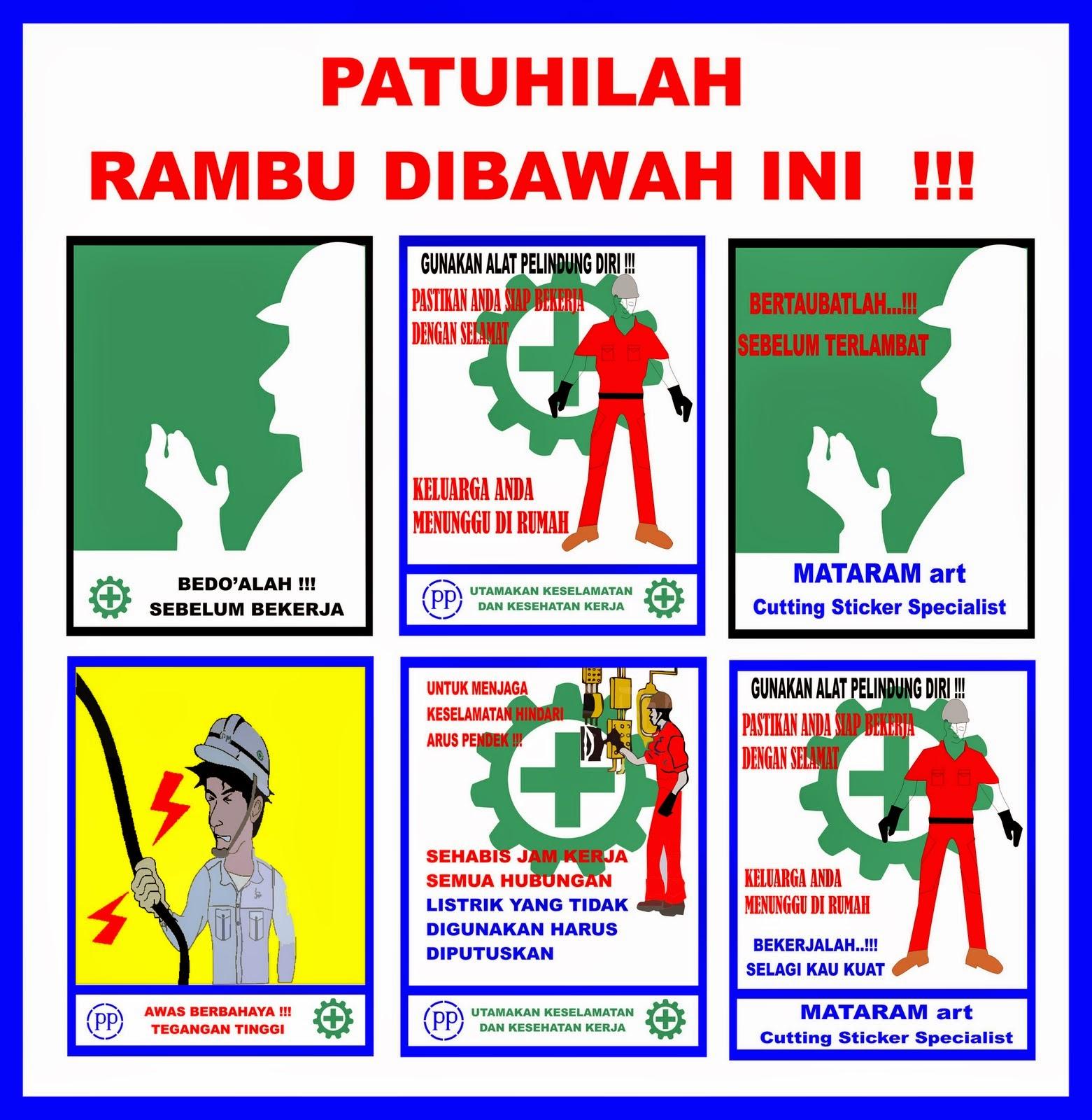 45 Rambu Rambu K3 Proyek Gambar Minimalis