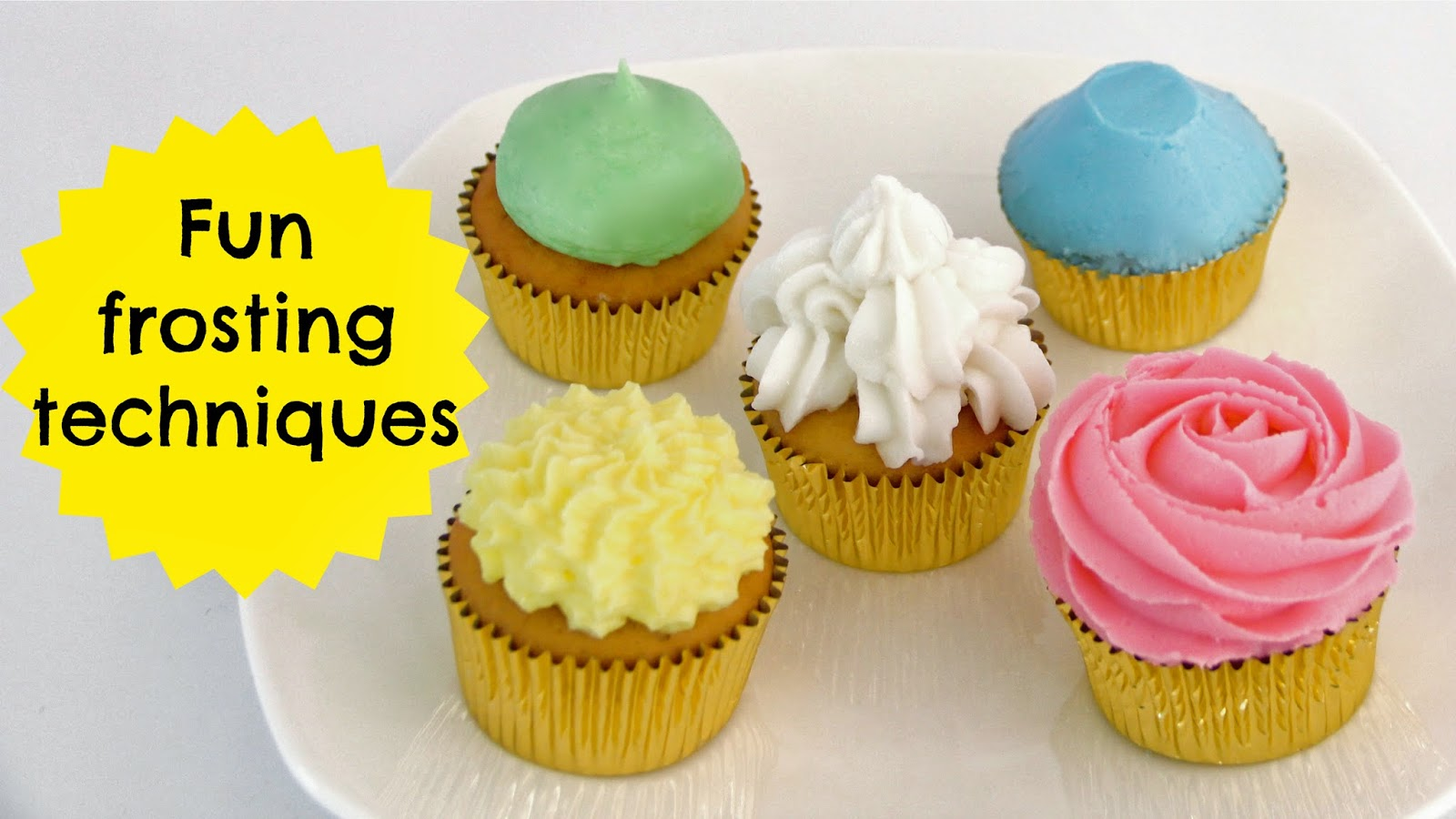 {VIDEO} How To Frost A Cupcake Part 1: The Perfect Bakery ...