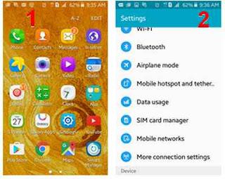 pengaturan 4G samsung telkomsel