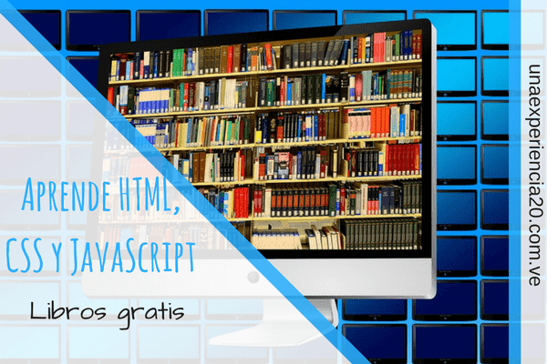 Libros para aprender HTML, CSS, JavaScript