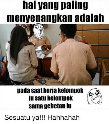 11 Meme 'Kerja Kelompok' Ini Lucu Banget, Bikin Kangen Masa Sekolah