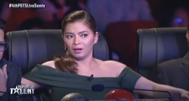 Angel Locsin's reaction on Power Duo's performance