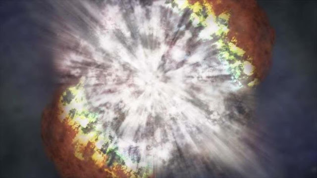 Astrónomos británicos observan supernova más antigua del Universo