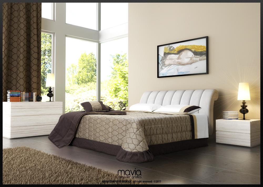 Arredamento di interni arredamenti di interni case 3d i letti design 3d i letti per camere da - Camere da letto in pelle ...