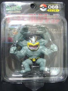 Machamp Pokemon figure Tomy Monster Collection black package series