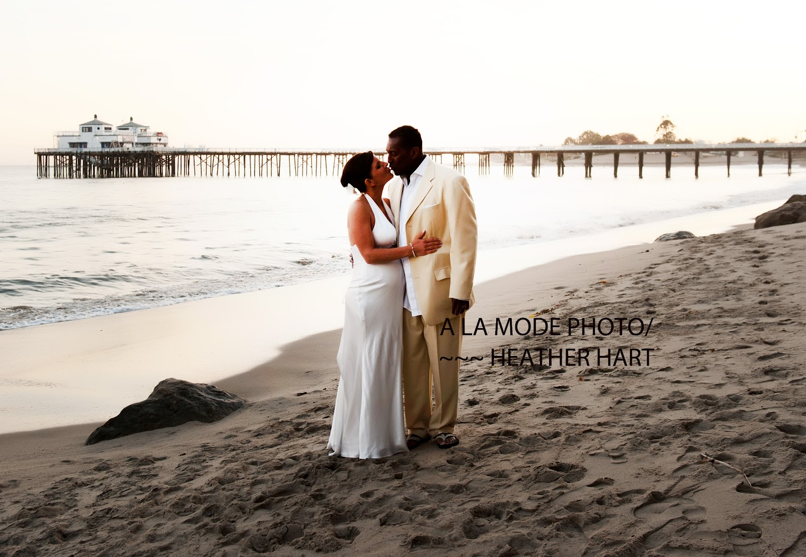 Sweet Came From St Louis Missouri To Get Married At Sunset In Malibu The Beach Found Me I Referred Them Inn