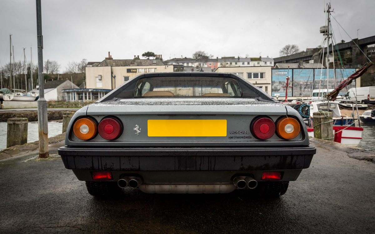 Ferrari Mondial QV 3.0 1985 - Xế cổ giá đẹp một thời của hãng xe Ý