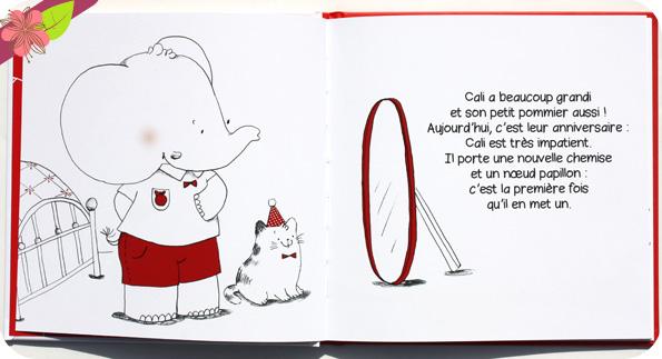 L'anniversaire de Cali de Nancy Guilbert et Cécile Vangout - Éditions Éveil et Découvertes