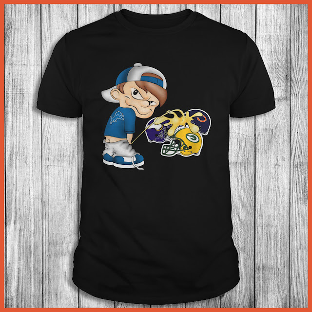 Detroit Lions Piss On The Packers, Vikings, Bears Shirt