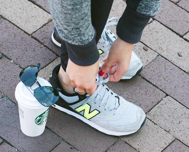 how to style new balance 574