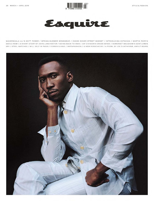 Male Fashion Trends: Mahershala Ali para Esquire UK por Cass Bird
