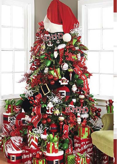 They Use Actual Decorations Or If Are Ornaments Over The Top Huge Also Decorating Base Of Your Tree Can Really Make A Difference As