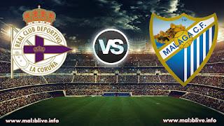 مشاهدة مباراة مالاجا وديبورتيفو لاكورونا Malaga-CF-vs-Deportivo-La-Coruna بث مباشر في الدوري الاسباني