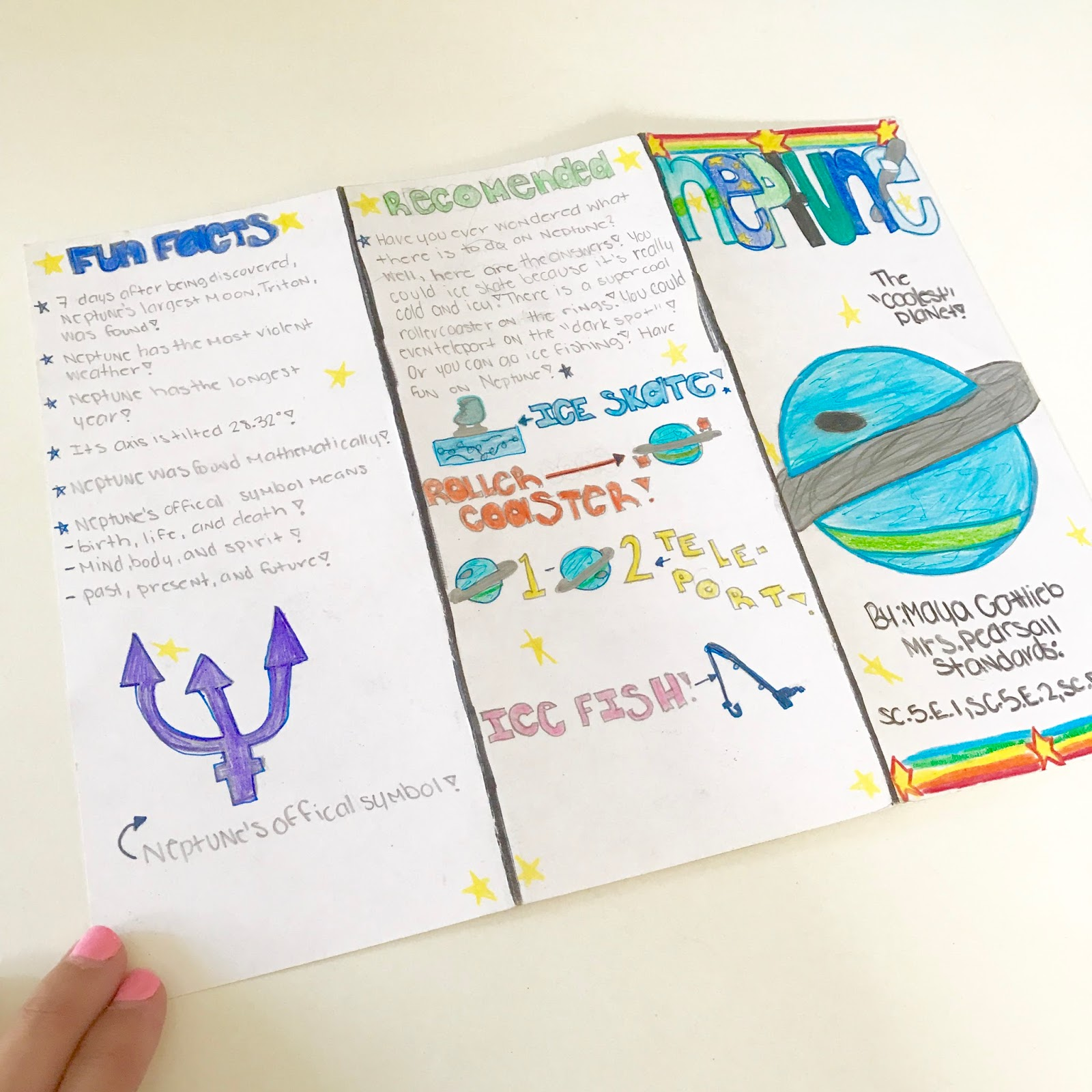 little lovely leaders  space project based learning brochure