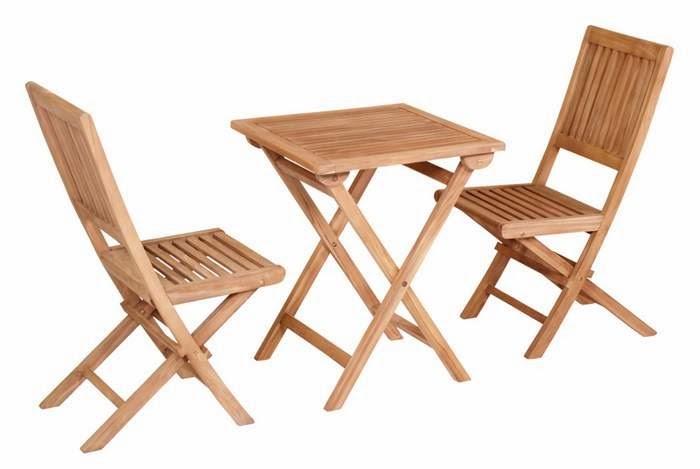 mesa y sillas para terraza pequeñas