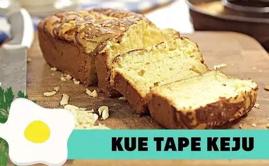 Resep Kue Tape Keju