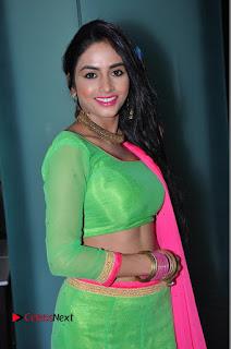 Actress Pooja Sri Pictures at Dandiya Navrang Utsav 2016 Curtain Raiser Event  0123.JPG