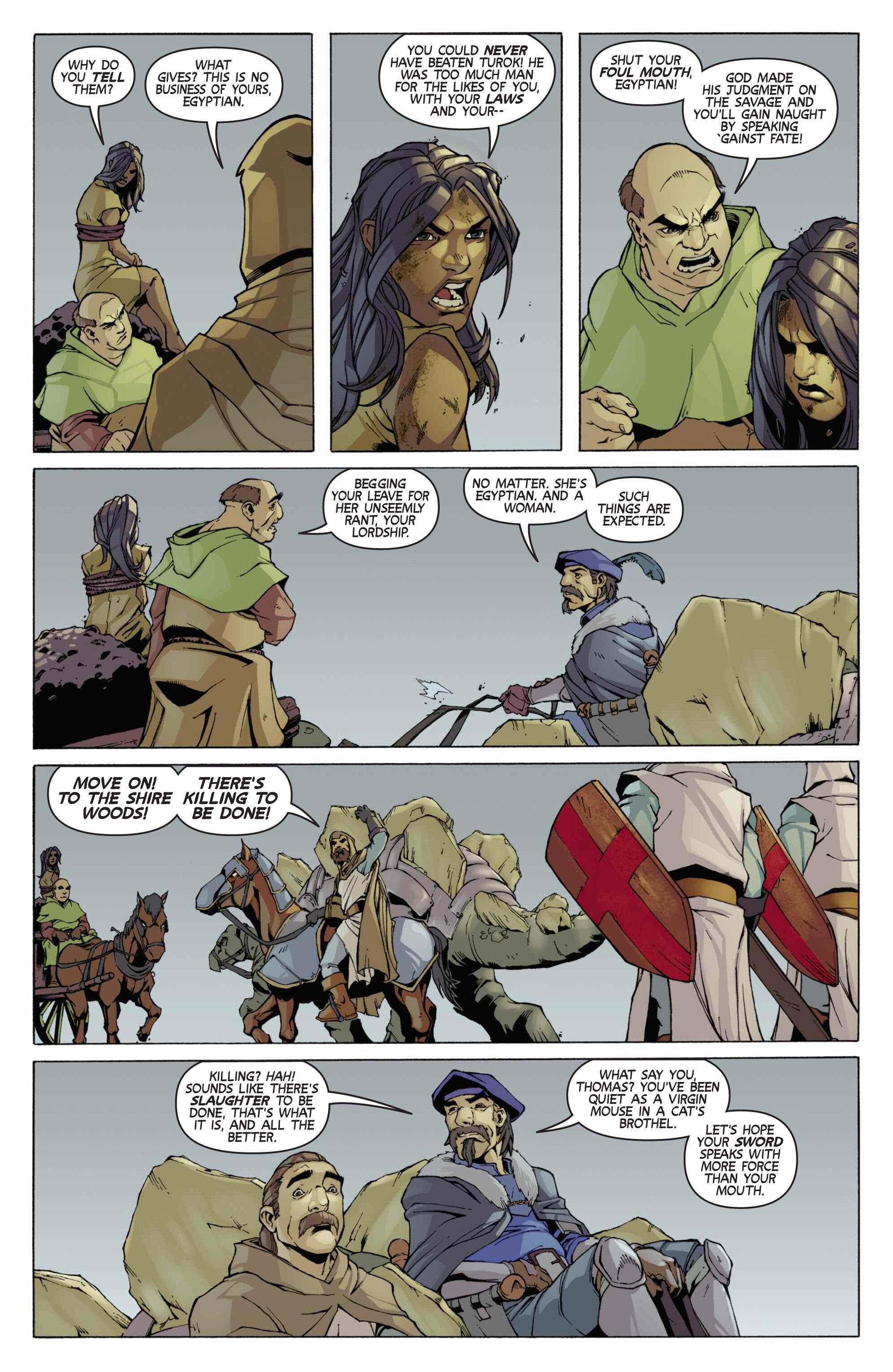 Read online Turok: Dinosaur Hunter (2014) comic -  Issue # _TPB 3 - 76