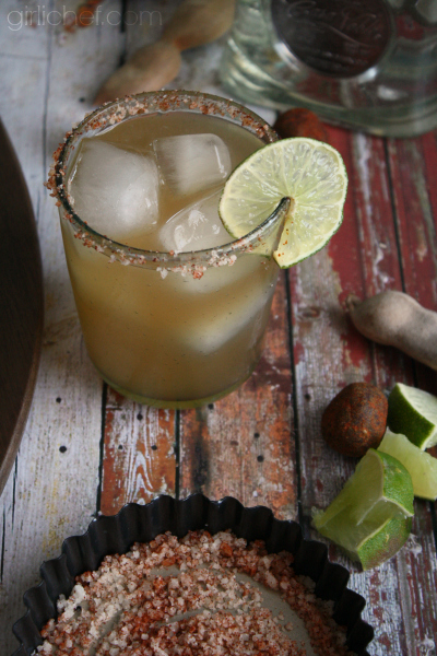 Tamarind Margarita + more Margarita recipes for National Margarita Day | www.girlichef.com