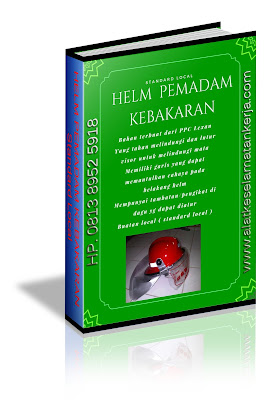 Helm Pemadam Kebakaran Standard local