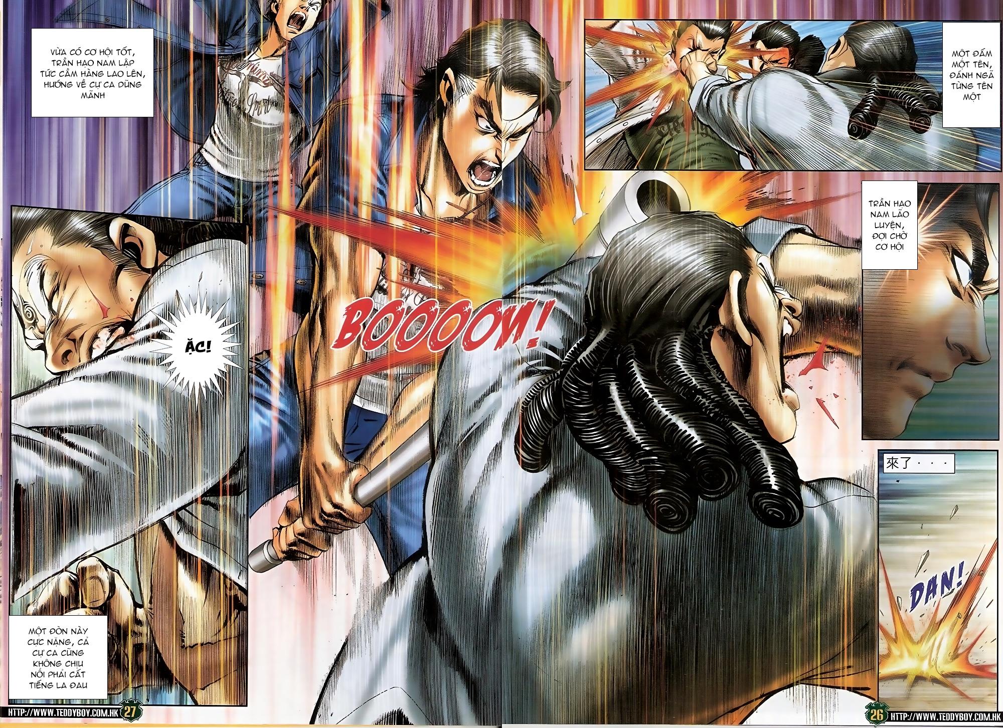 Người Trong Giang Hồ - Chapter 1549: Chơi bẩn - Pic 25