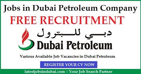 Jobs in Dubai Petroleum Company
