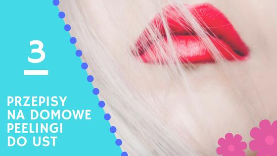 domowe peelingi do ust kosmetyki naturalne