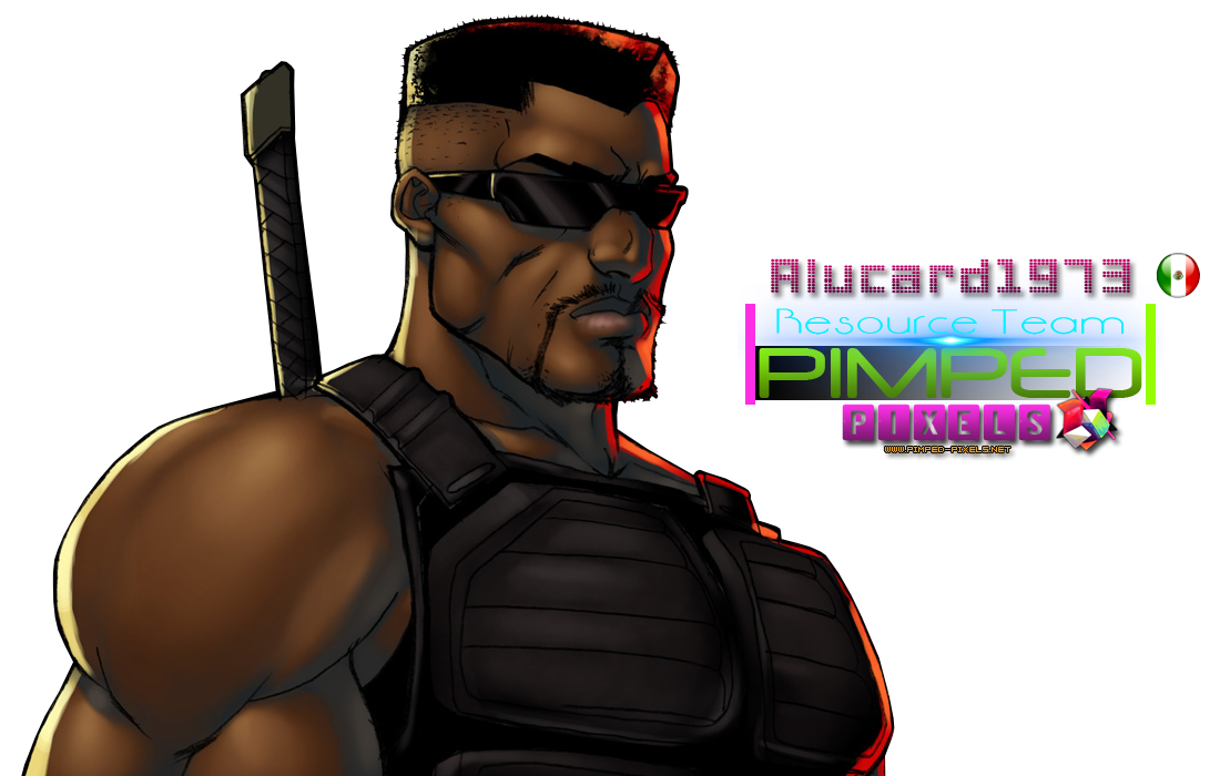 Blade Color Bust