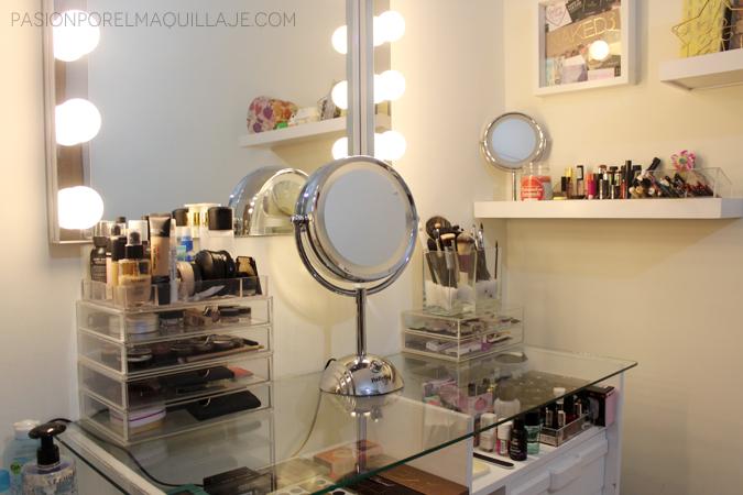 Tocador Cómo organizar el maquillaje