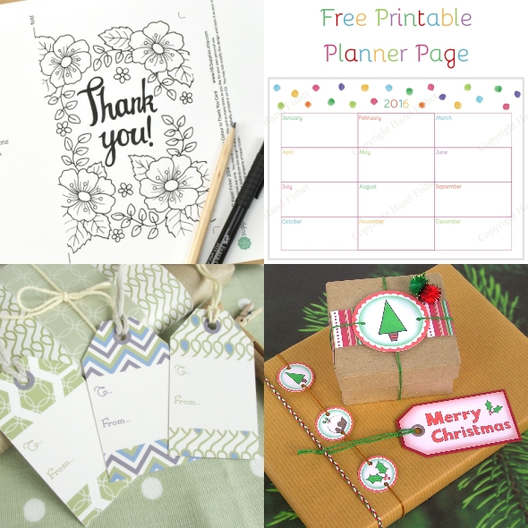 Printables Basics - How to Download digital items. Free printables from Hazel Fisher Creations